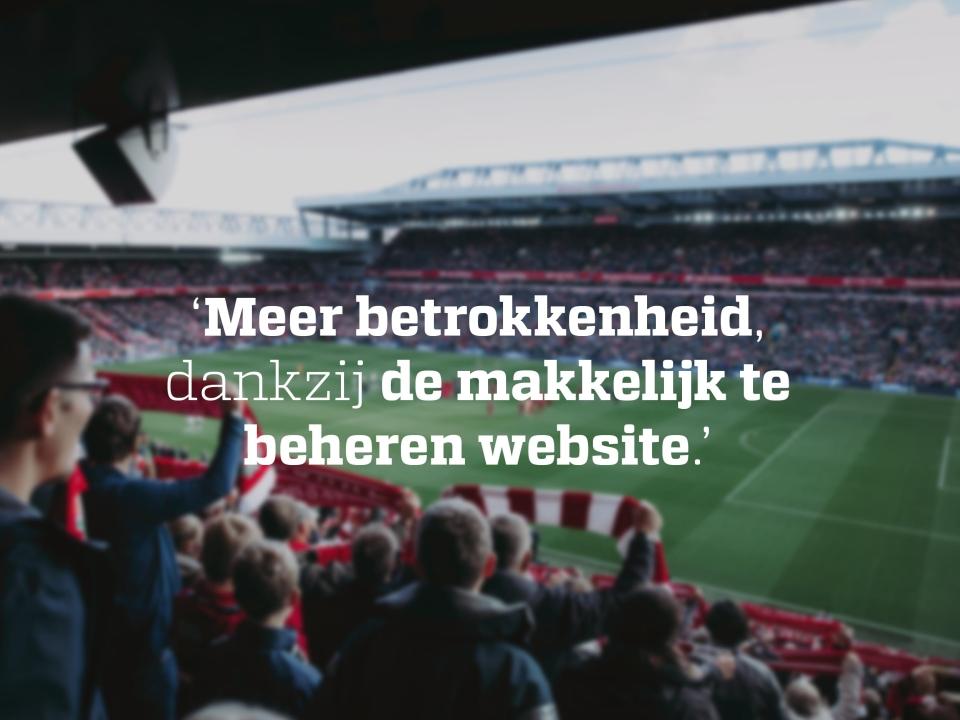We werken graag voor Fanclub Liverpool FC