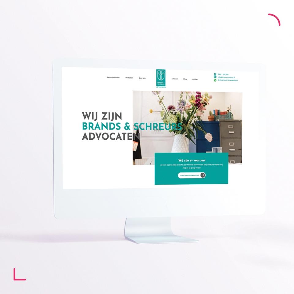 We werken graag voor Brands & Schreurs advocaten