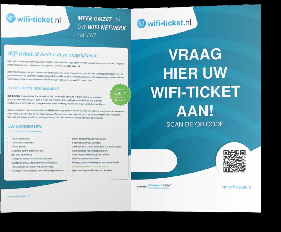 We werken graag voor Wifi-ticket.nl